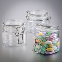 Perfectly Plain 16oz Large Clear Acrylic Apothecary Favour Jar